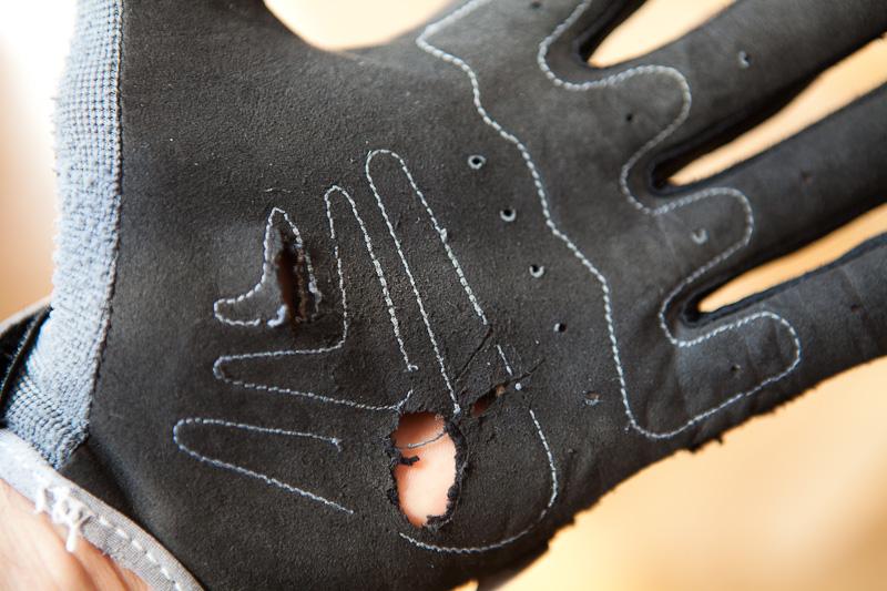 UFO Airbase glove torn apart
