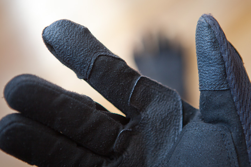 Mechanix M-Pact glove finger detail